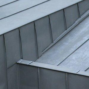 Couverture en zinc.