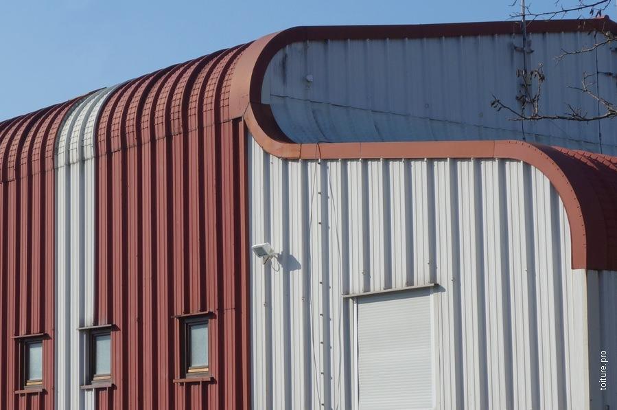 toiture les diff rents types de bac acier. Black Bedroom Furniture Sets. Home Design Ideas