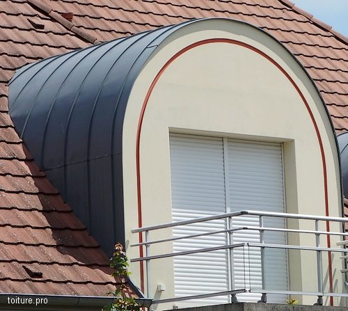 avantages du zinc - Lucarne Moderne Et Toit Tuile